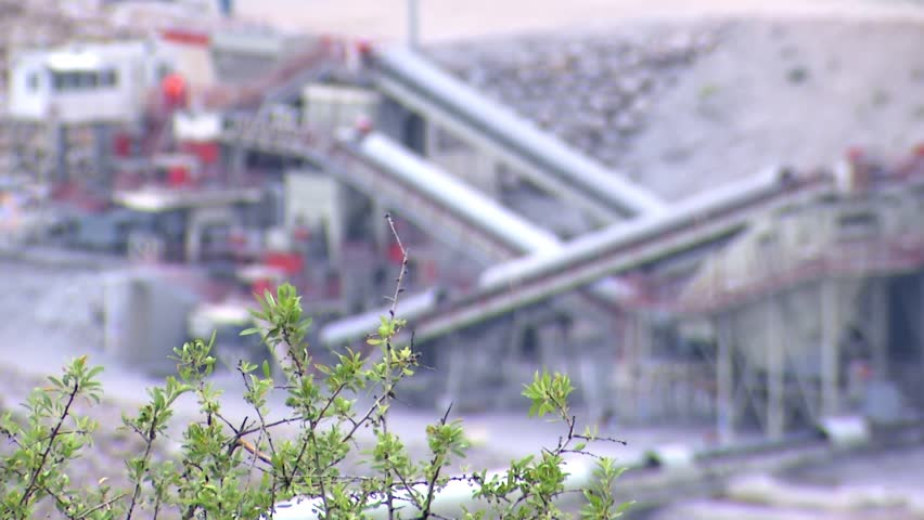 Copper mine and plant production | Shutterstock HD Video #11017049