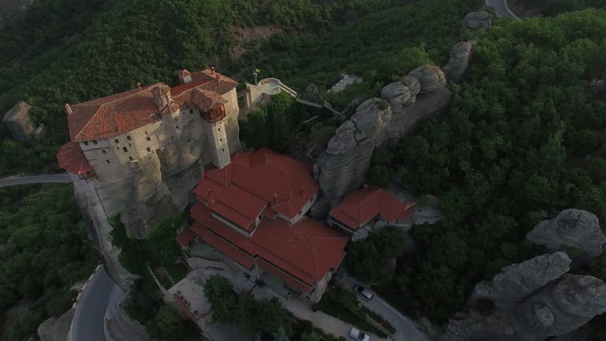 Meteora - St. Nikolaos Anapafsas Monastery