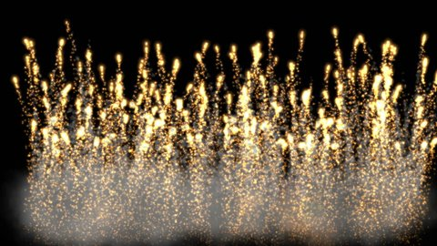4k Abstract smoke flames fireworks background,holiday explosions particle backdrop. 1294_4k