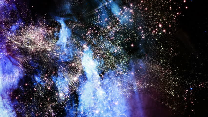 Space 2110: Flying through star fields and galaxies in outer space (Loop).   Shutterstock HD Video #11127719