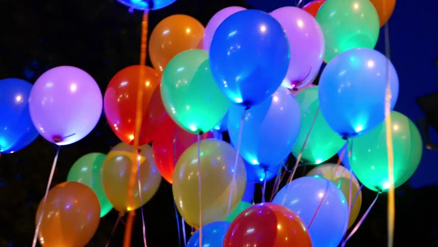Multicolored Balloons Holiday Birthday Party Stock Footage Video 100 Royalty Free 11158469 Shutterstock