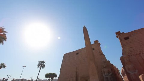 Ancient ruins in Luxor