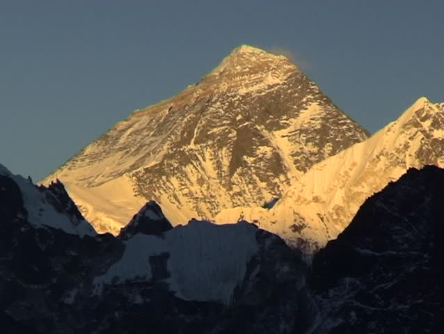 2-shots of Mount Everest and Stock Footage Video (100% Royalty-free) 112429  | Shutterstock