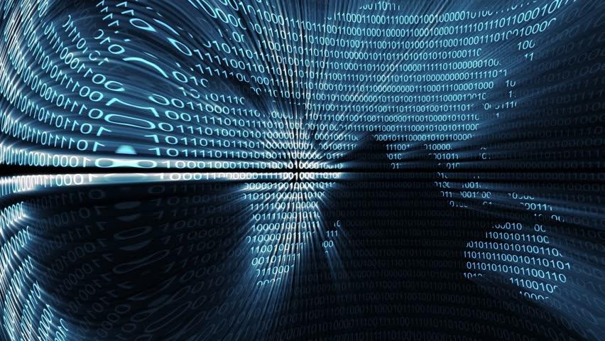 Binary digital world computer data code cyberspace graphic animation | Shutterstock HD Video #11347229