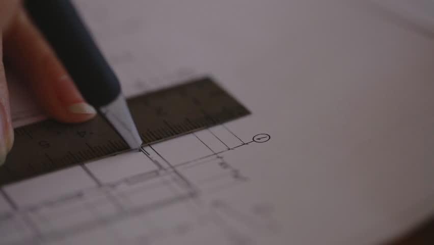 Free blueprints stock video footage download 4k hd clips blueprint handheld shot malvernweather Gallery