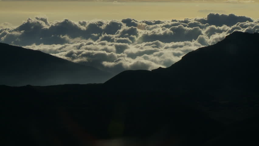 Haleakala volcano above the clouds stock footage video 28355527 haleakala volcano above the clouds hd stock footage clip publicscrutiny Image collections