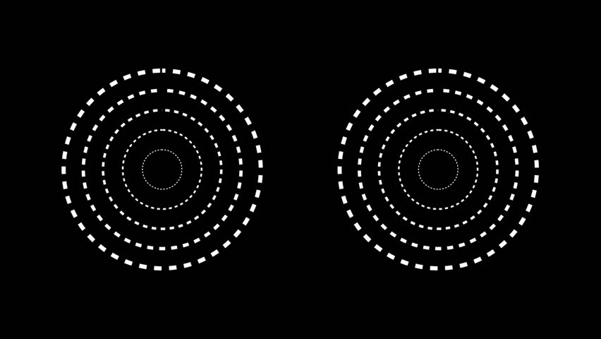 Computerized Circles HUD | Shutterstock HD Video #11433971