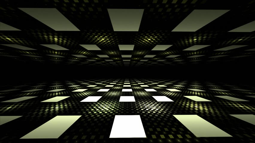 3d Seamless Illusion Perspective Geometric Background
