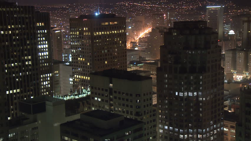 Above San Francisco at Night | Shutterstock HD Video #1149319