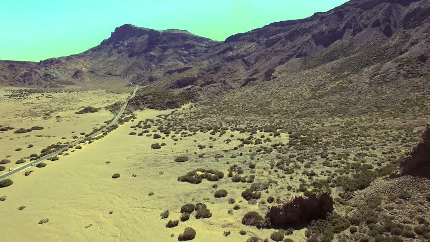 Summer mountain landscape, time-lapse. Tenerife island, Spain. | Shutterstock HD Video #11633279