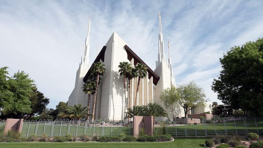 mormon lds temple in las vegas nevada beautiful gardens