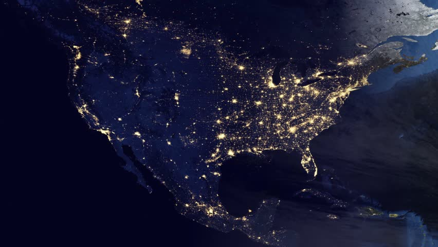 north america from space hd - photo #18