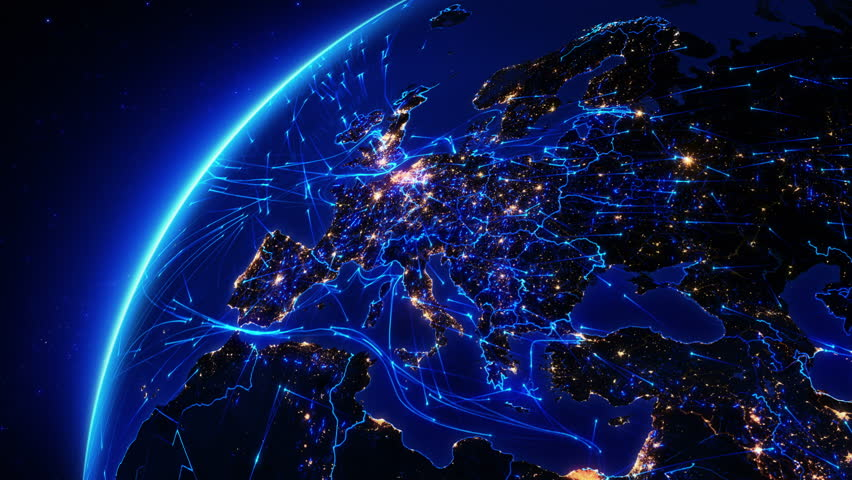 Finland map stock footage video shutterstock - Digital world hd ...