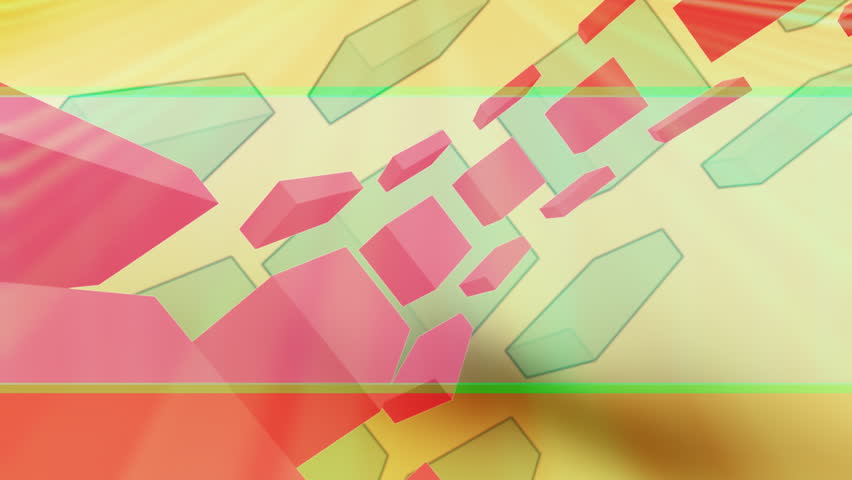 Retro Geometric Looping Animated Background  | Shutterstock HD Video #1177399