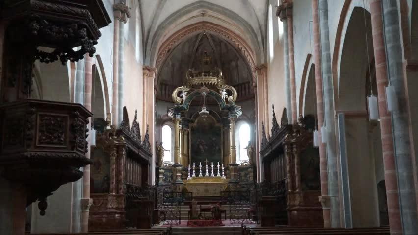 Christ Church Shooting Hd: Still Shot On Sculpture Of Jesus Christ Crucified On Cross