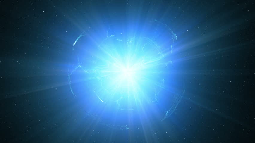 Huge galactic explosion in space #11843609