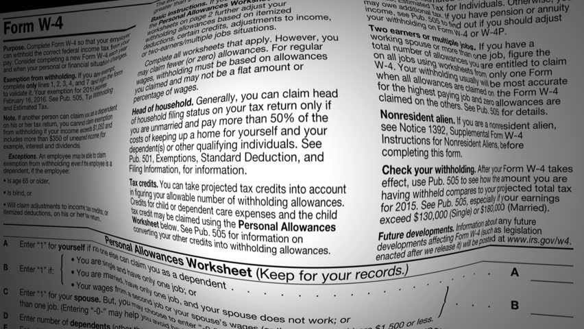 income tax return refund accounting document form 1040 for the IRS income tax refund paper form