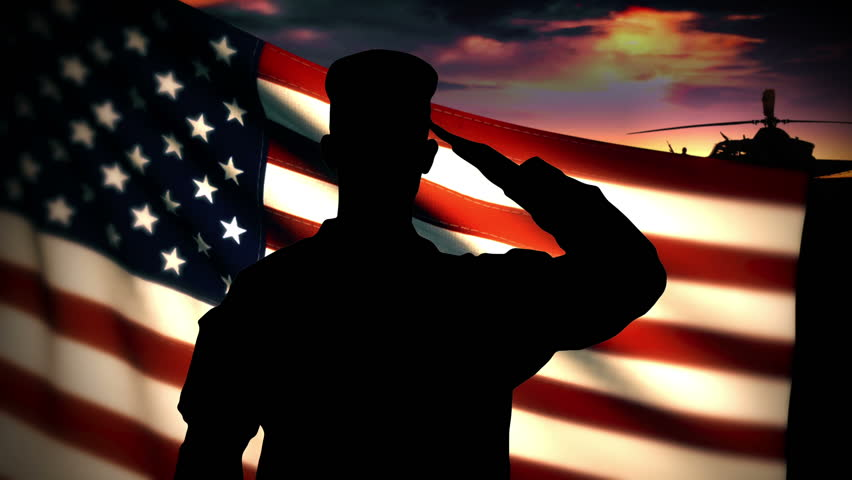 Military Salute Stock Footage Video | Shutterstock