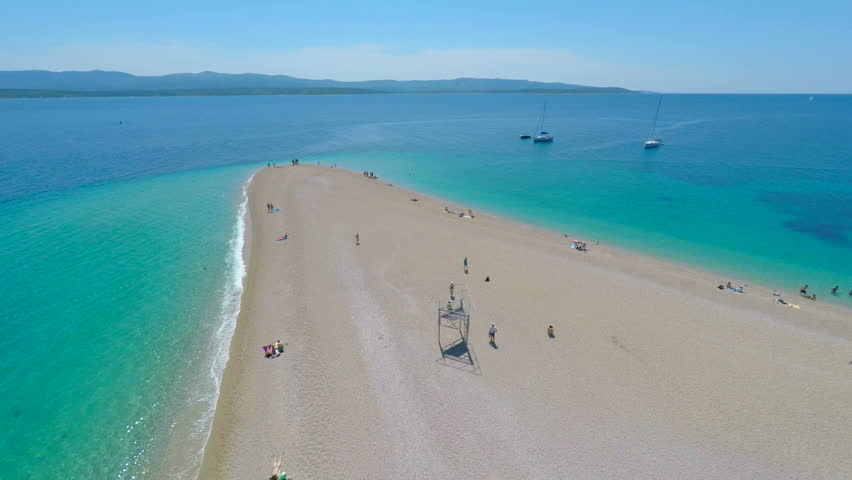 Image result for zlatni rat beach brac island croatia