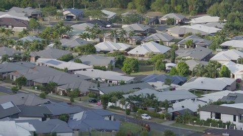 Urban housing Sprawl in Australia.