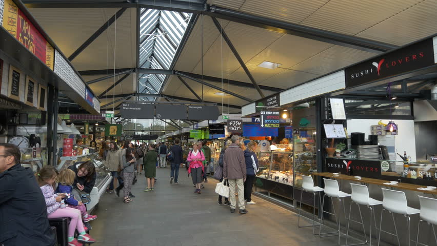 Indoor Food Market Copenhagen