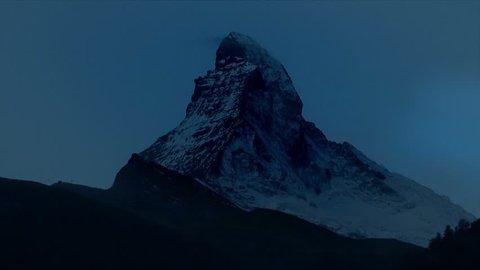 Magic Matterhorn Switzerland, Time Lapse