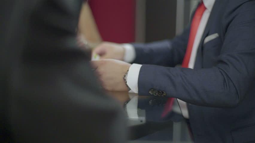 Lawyer meeting | Shutterstock HD Video #12091727