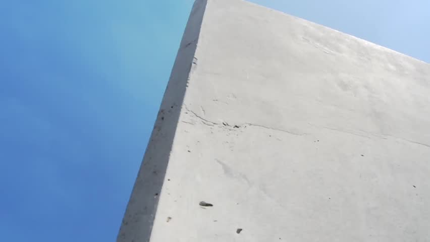 the Radio Tower in West-Berlin occurs behind a concrete wall