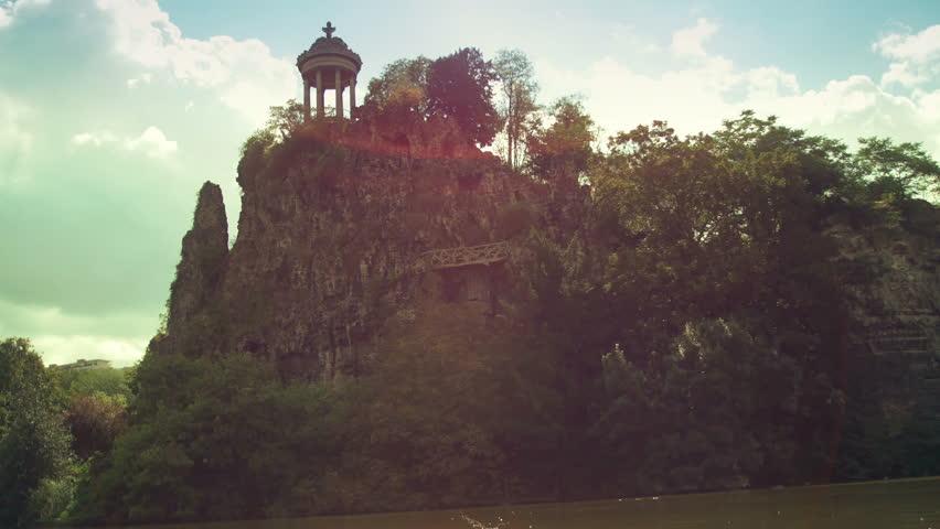 Establishing shot of a beautiful park in Paris, France.  | Shutterstock HD Video #12207449
