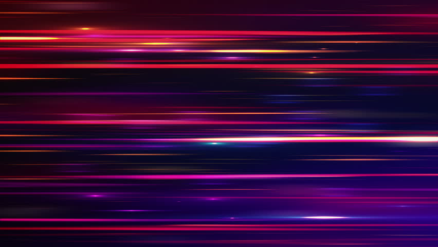 Abstract background with glowing stripes and lines. Animation of seamless loop. #12226019