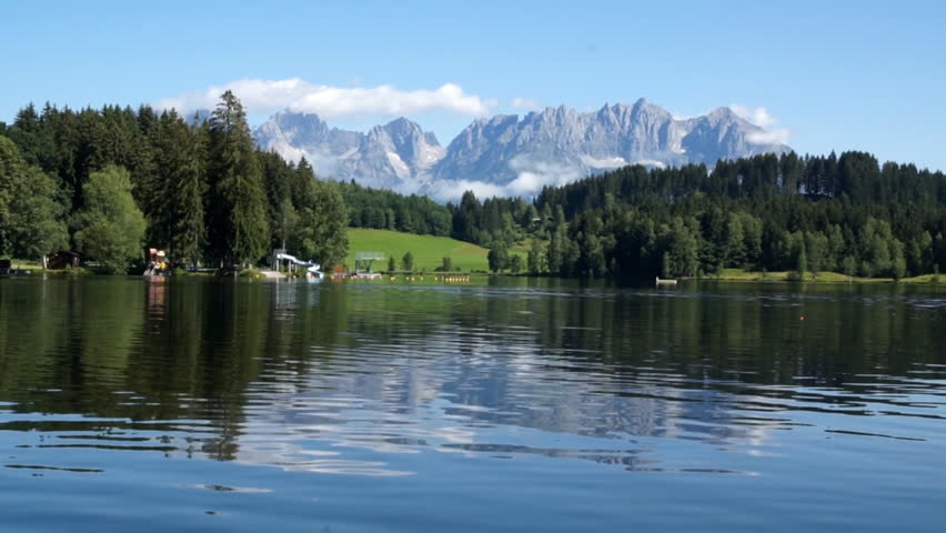 Schwarzsee lake in Austrian Alps #1230529