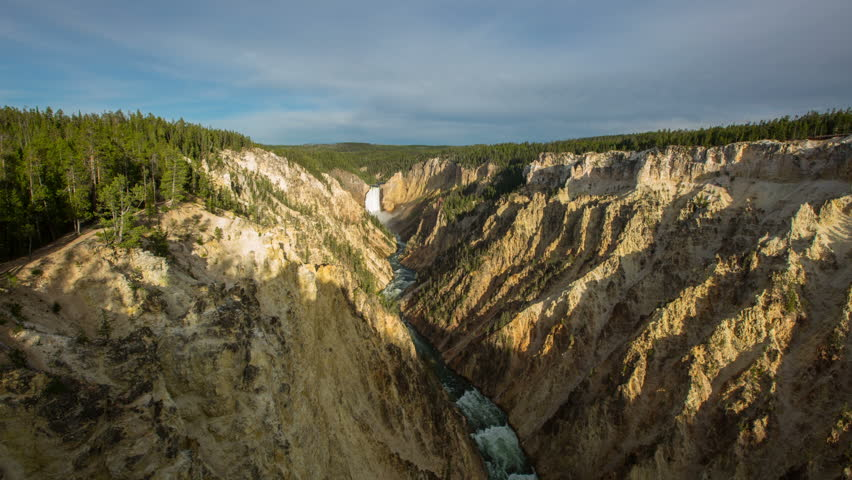 Time lapse of Yellow Stone National Park in Wyoming.   Shutterstock HD Video #12462959