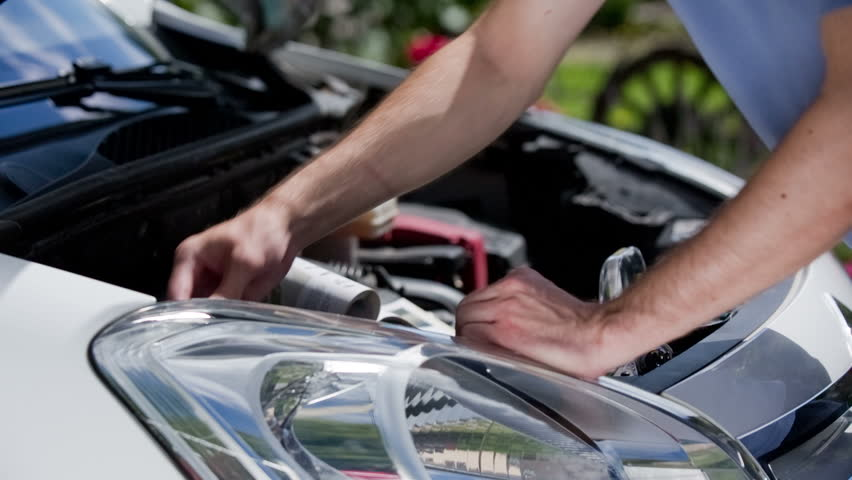 Checking Broken Car Headlights Bulb  Stock Footage Video (100%  Royalty-free) 12583019 | Shutterstock
