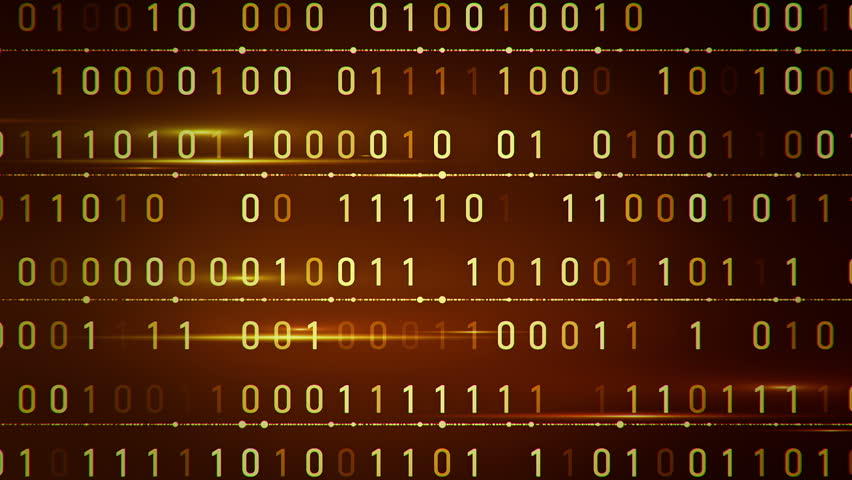 Abstract background with animation of binary code. Binary digits 1 and 0 in different configurations on color background. | Shutterstock HD Video #12610229