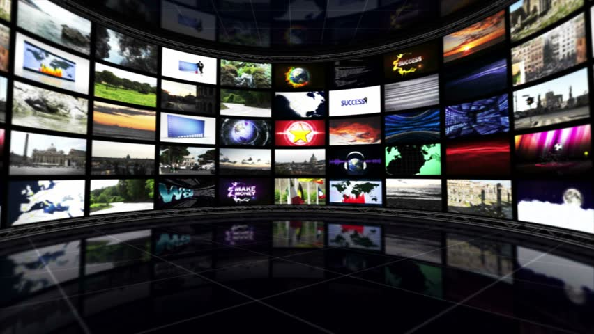 Monitors Room Background, Loop Stock Footage Video 5367266 ...