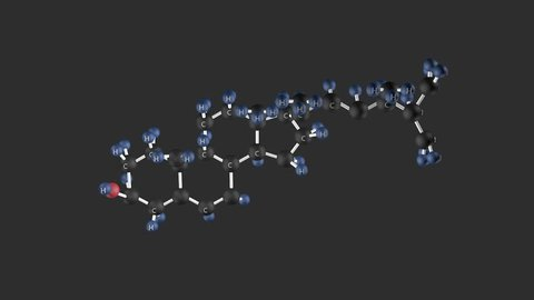 Cholesterol Molecular Structure Molecular Structure Of Video