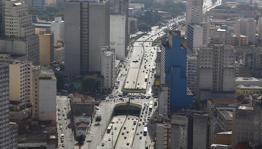 Sao Paulo Brazil skyline