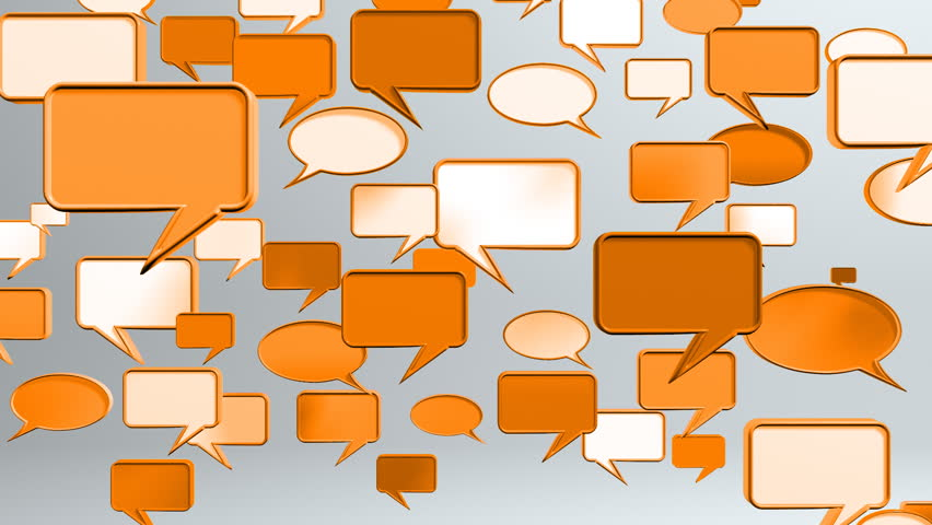 This conversation animation provided the social network concept | Shutterstock HD Video #1282369