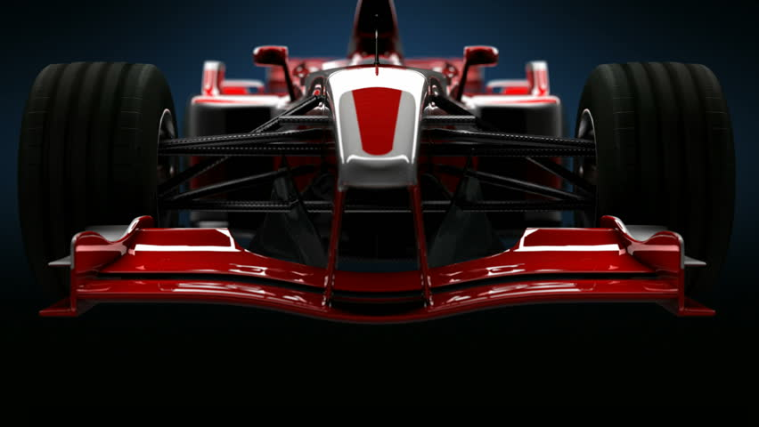 Formula One Car Detail Close up. HD | Shutterstock HD Video #12933557