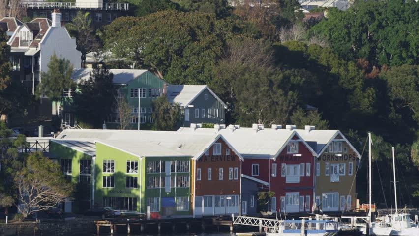 Waterview Wharf Workshops | Shutterstock HD Video #12996569