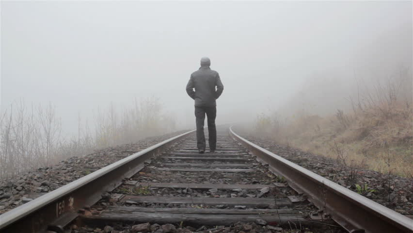 Image result for lonely rail track
