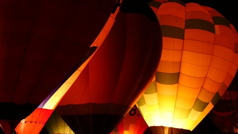 XVIII Cup of Ballooning. Choreography balloons in Aranjuez. Filmed on November 28, 2015.