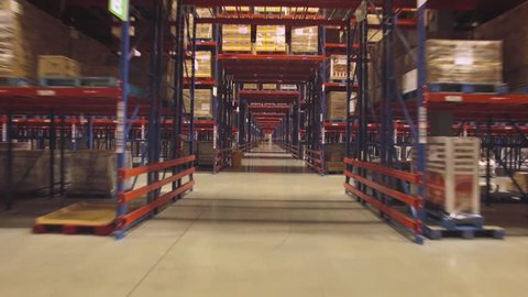 Warehouse Aisles