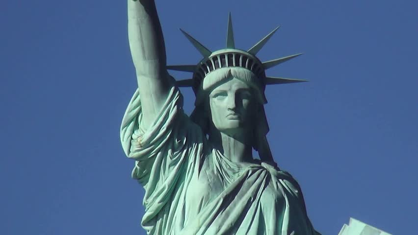 Statue of Liberty on Liberty Island New York | Shutterstock HD Video #13055822