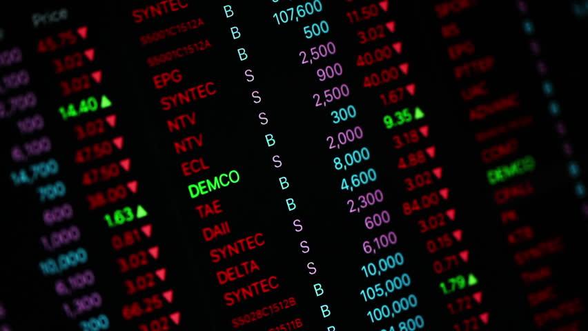 Stock market ticker | Shutterstock HD Video #13058693