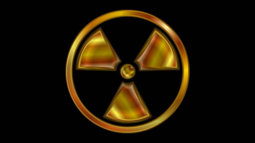 cool radioactive symbols