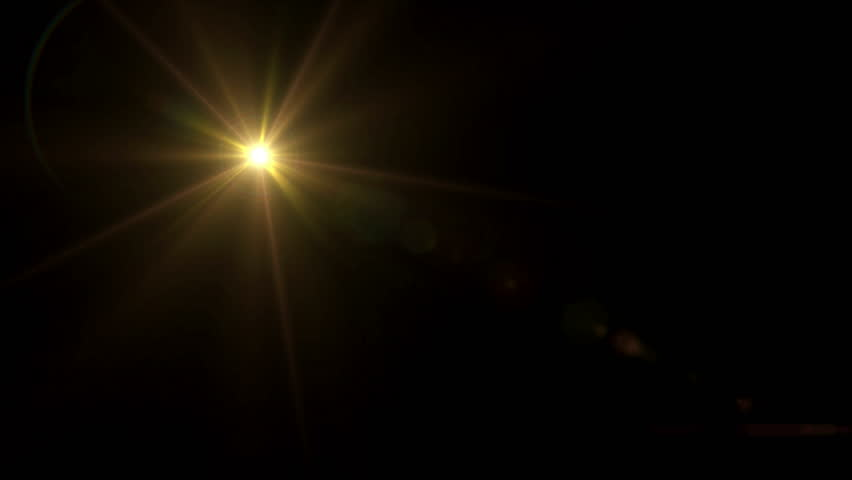 Abstract Image Of Lens Flare Stock Footage Video (100