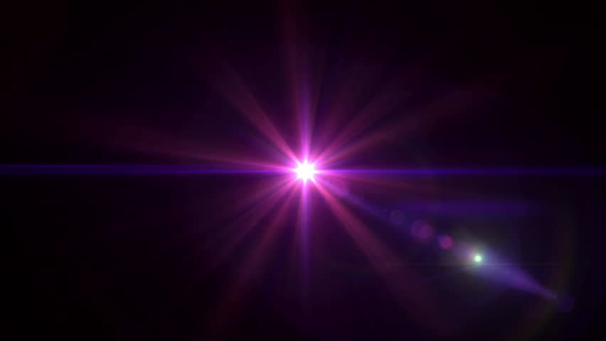 Abstract Image Of Lens Flare Representing The Glow Star