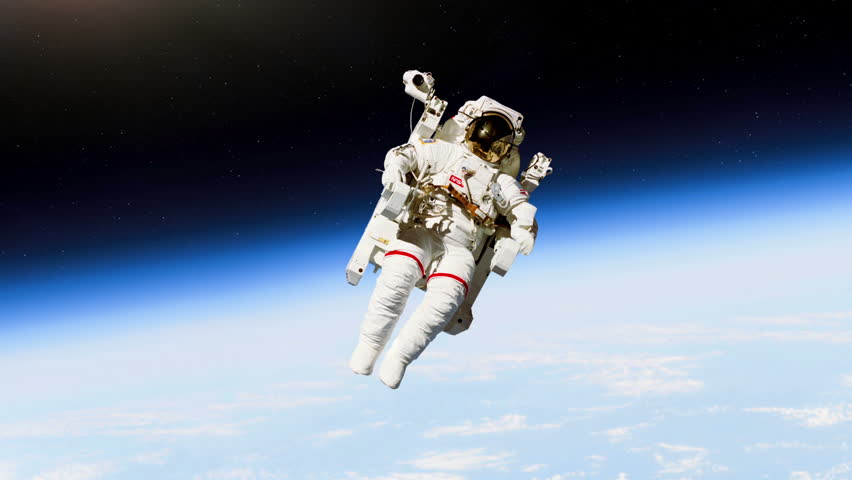 astronaut working in space - photo #22