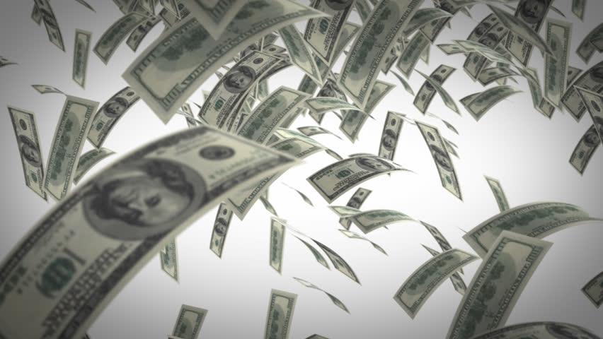 Money Rain Stock Footage Video 100 Royalty Free 1329529